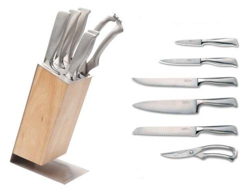 Ножи в блоке Nuance 7 пр.