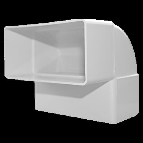 Колено вертикальное плоское Dospel D/KPI 220х55