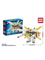 Конструктор Wisehawk Дабл Х Гандам 756 деталей NO. 2361 Double X Gundam mini block