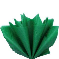 Бумага тишью, Зеленая 76 Х 50 см, 10 листов, 28 г.