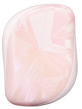 Tangle Teezer Compact Styler Smashed Holo Pink расческа для волос