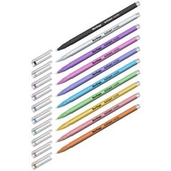 Berlingo Brilliant Metallic набор гелевых ручек с эффектом металлик 0.8 мм - 10 цветов