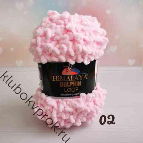 HIMALAYA DOLPHIN LOOP 112-02, Нежный розовый