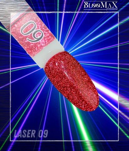 Гель лак Laser 09, 8 мл