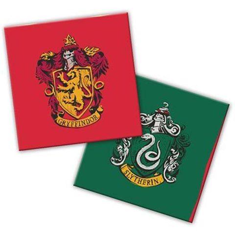 Салфетки Гарри Поттер герб, 20 штук
