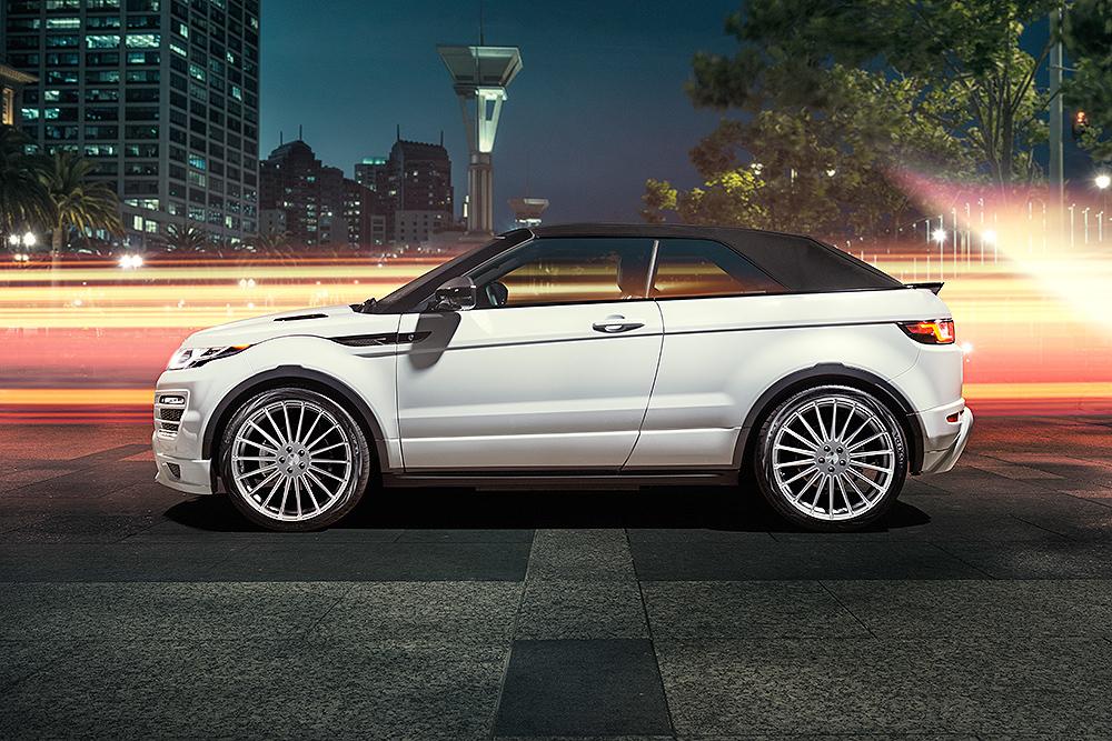Обвес Hamann для Range Rover Evoque  Cabrio