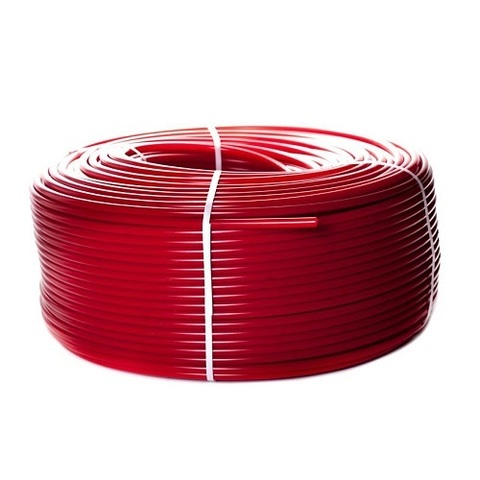 Труба из сшитого полиэтилена STOUT - 20x2.0 (PE-Xa/EVOH, PN8, Tmax 95°C,  бухта 100 м, цвет красный)
