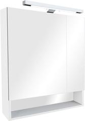 Зеркальный шкаф Roca GAP ZRU9302887 80 см белый глянец