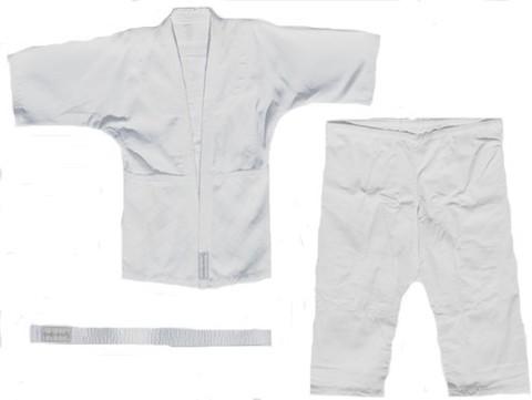 Кимоно дзюдо. Цвет белый. Размер 44-46. Рост 176.