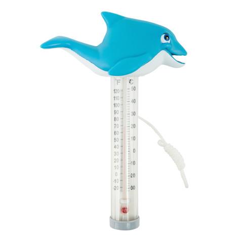 Термометр игрушка Kokido K785BU/6P Дельфин / 12220