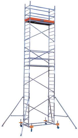 PROTEC Передвижные подмости. рабочая высота 12,3 м