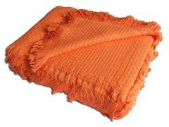 Хлопоковое покрывало In Design,  оранжевое