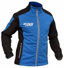 Утепленная лыжная куртка Ray Race WS Blue-black