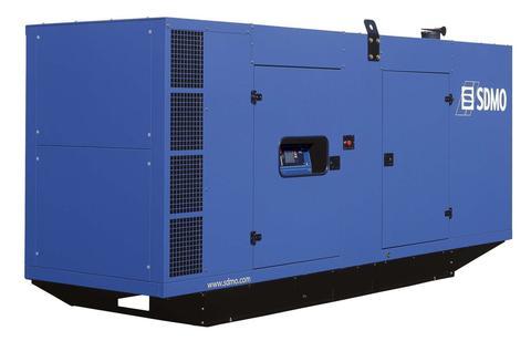 Дизельный генератор SDMO D440 в кожухе