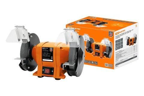 Заточной станок ЗС-350, 350 Вт, 2950 об/мин, круг 200 ×20 мм, посад.  диам. 16 мм,