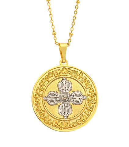 Медальон Защита Ваджры с цепочкой