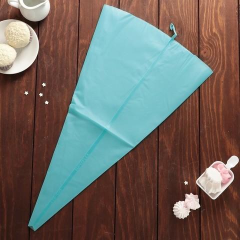 Мешок кондитерский силикон 55 см, синий