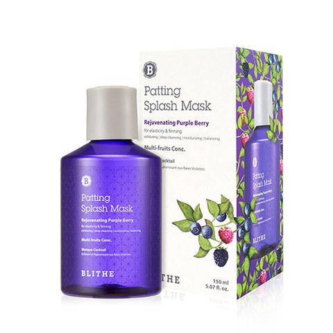 Blithe Rejuvenating Purple Berry Splash Mask омолаживающая сплэш-маска для эластичности кожи с экстрактами лесных ягод