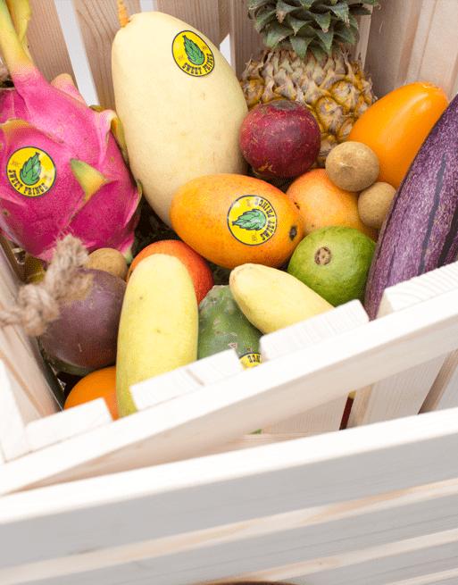 Подарочная набор Premium с фруктами. Лавка экзотических фруктов Sweet Prince