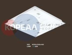 Потолочный LED светильник квадратный Butina Room 60 (до 18 кв.м)