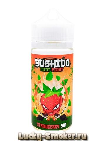 Жидкость Bushido mint fight 100 мл Strawberry Sai