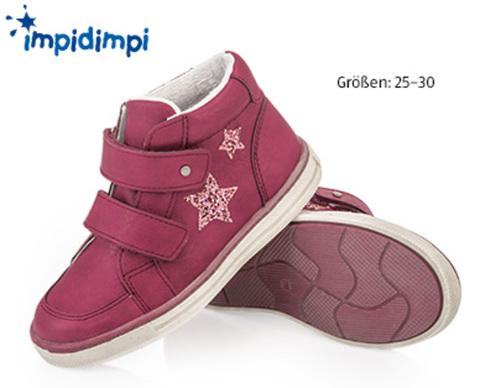Ботинки для девочки Impidimpi