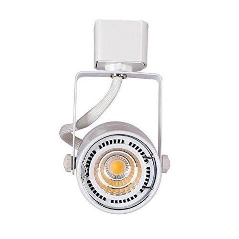 трековый светильник под лампу MR16 GU5.3 (белый)
