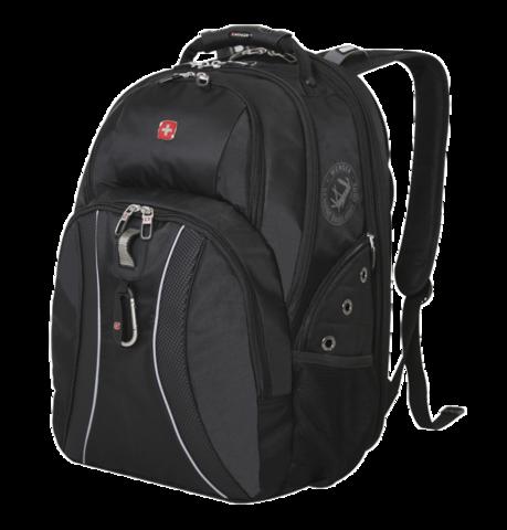 Рюкзак городской Wenger ScanSmart II серый/чёрный 36 л