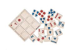Обучающая игра Таблицы Шульте для малышей, Smile decor П242