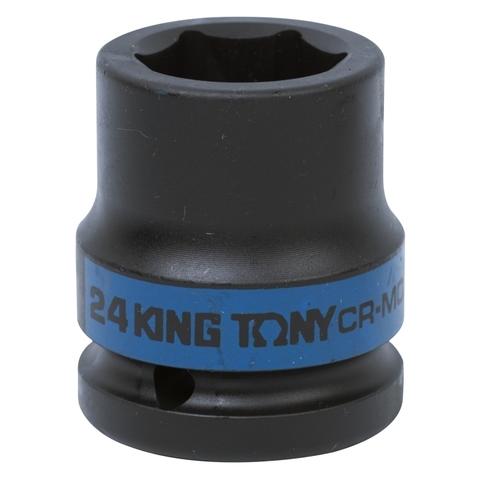 KING TONY (653524M) Головка торцевая ударная шестигранная 3/4