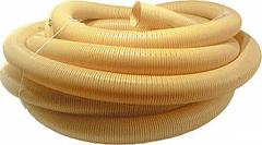 Труба дренажная гофрированная d=110мм без фильтра без перфорации (1 п.м.)