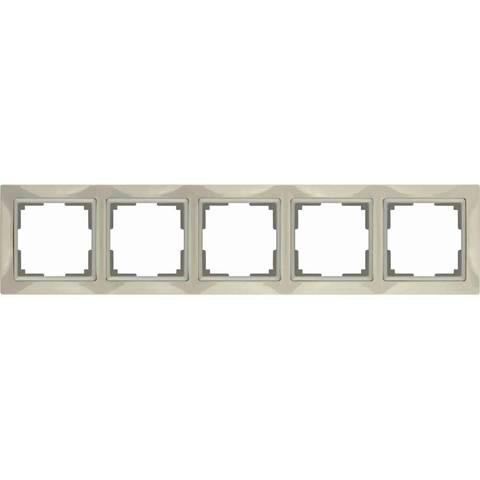 Werkel Рамка WL03-Frame-05 слоновая кость basic