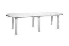 Пластиковая вставка для овального стола «Комби» белая
