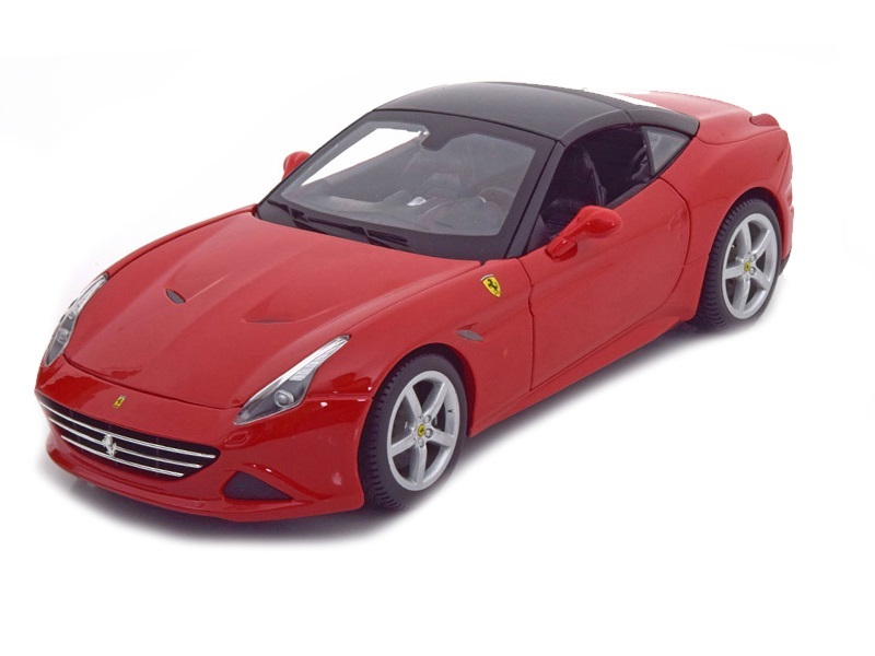 Коллекционная модель Ferrari New California T Hardtop 2014 Red/Black