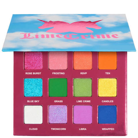 Lime Crime Pressed Pigment palette