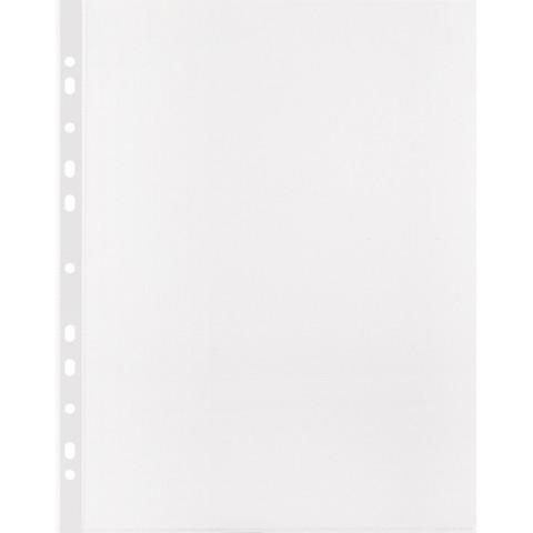 Файл-вкладыш Attache А4 40 мкм прозрачный гладкий 100 штук в упаковке