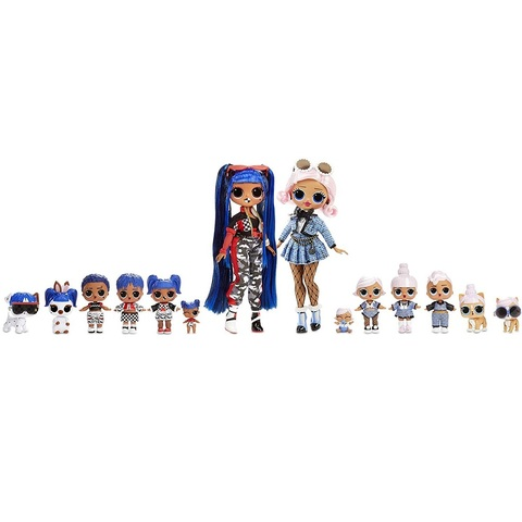 ЛОЛ Изумительный Набор из 14 кукол