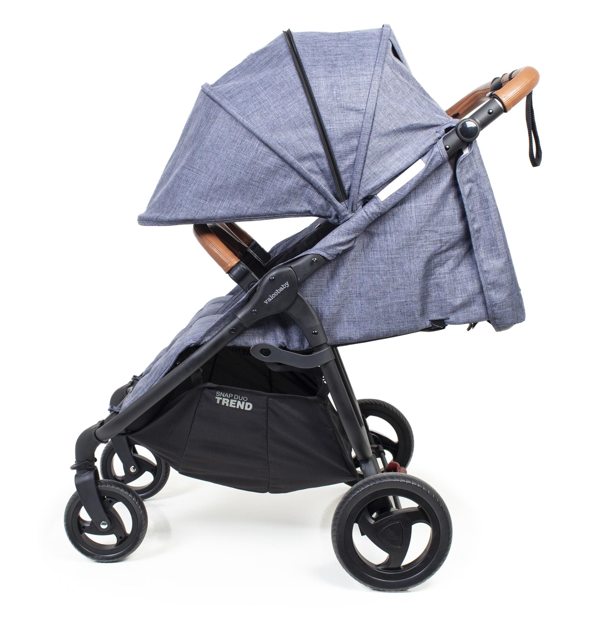 Коляска для двойни Valco baby Snap Duo Trend / Grey Marle