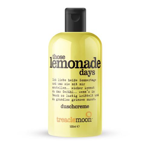 Treaclemoon Гель для душа лимонад THOSE LEMONADE DAYS BATH & SHOWER GEL 500 мл