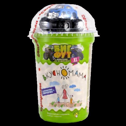 """Воздушный рис в карамели """"Биг Фут"""" с игрушкой Вкусномама, 70г"""