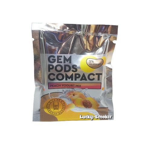 Gem Pods Compact (совместим с Logic) Персиковый йогурт