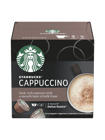Кофе в капсулах Starbucks Cappuccino (12 капс.)