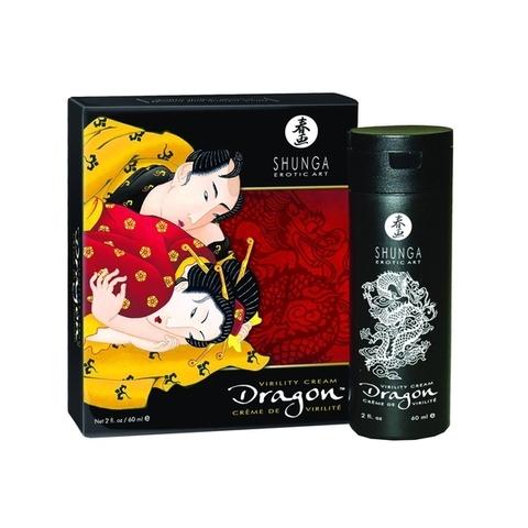 Shunga Интимный мужской крем Дракон, 60ml