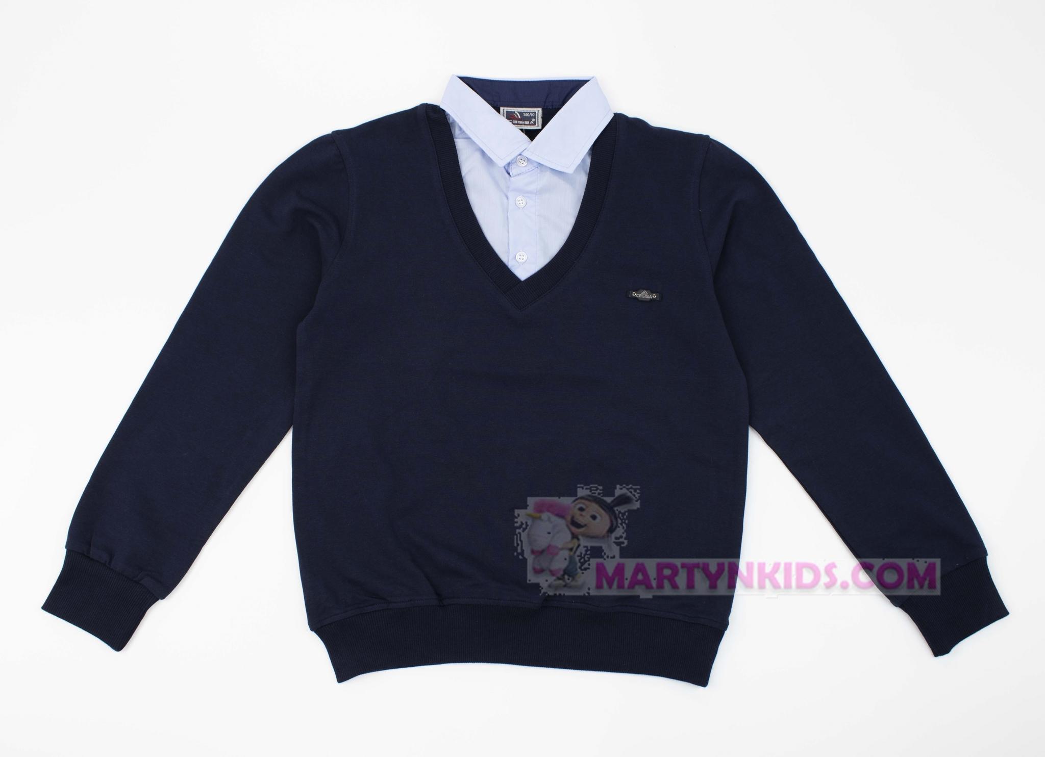 3653 джемпер рубашка обманка CEGISA
