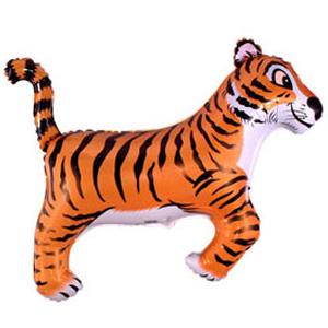 Фольгированный шар Тигр 78 X 104см
