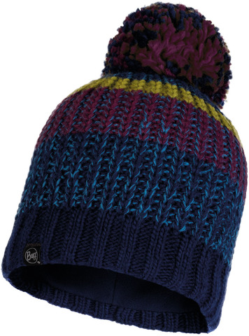 Шапка вязаная с флисом Buff Hat Knitted Polar Stig Night Blue фото 1