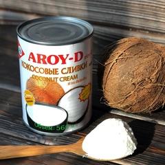 Кокосовые сливки Aroy-D 70% / 560 мл