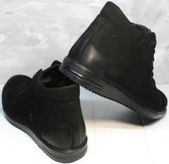 Купить мужские зимние ботинки Luciano Bellini 71783 Black.