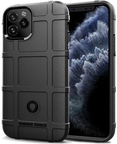 Чехол для iPhone 11 Pro цвет Black (черный), серия Armor от Caseport