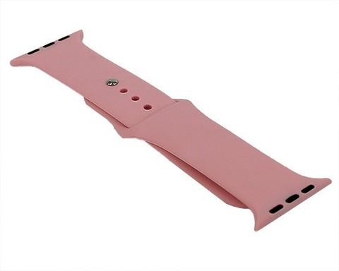 Ремешок для Apple Watch 42mm/44mm силиконовый | розовый